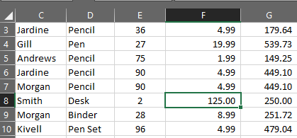 excel how to make columns stay when scrolling